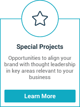 Opportunities to align your brand with thought leadership in key areas relevant to your business